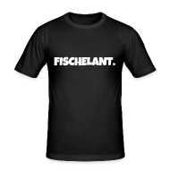 T-Shirts ~ Männer Slim Fit T-Shirt ~ Fischelant