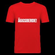 T-Shirts ~ Männer Slim Fit T-Shirt ~ Äggsberde