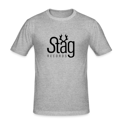 STG-LOGO black slimfit - Men's Slim Fit T-Shirt