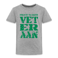 Shirts ~ Kids' Premium T-Shirt ~ proud to have VET-ER-AAN