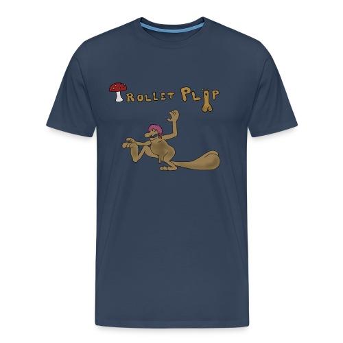 Trollet Pläp - Premium-T-shirt herr