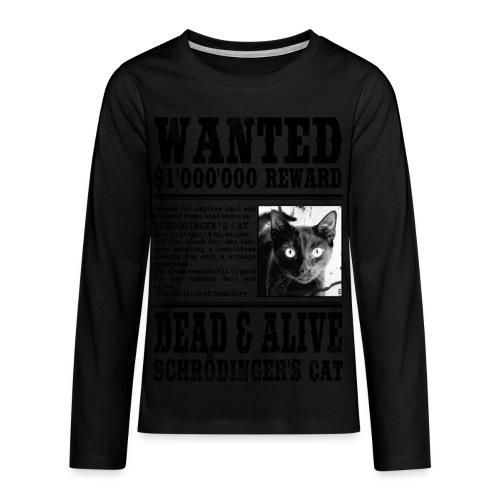 Koszulka Premium z długim rękawem dla nastolatków