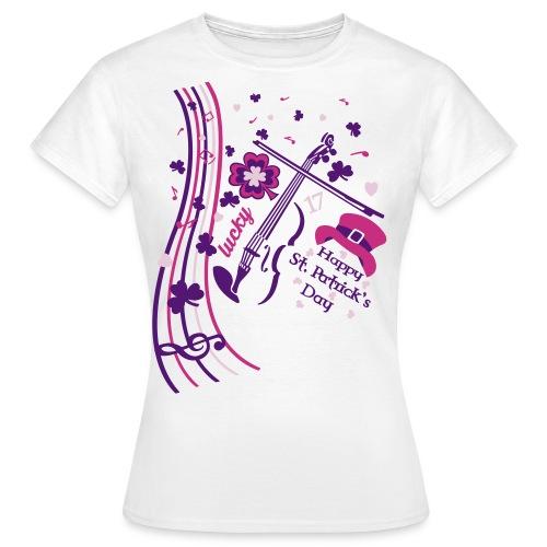 St.Patrick's Day F - Camiseta mujer