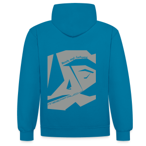 Abstract 2C - Kontrast-Hoodie