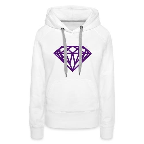 Women's hoodie DIAMOND | TLMClothing  - Women's Premium Hoodie