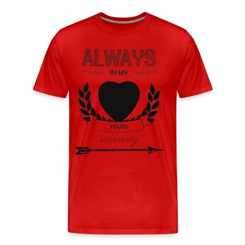 AIMH transparent mens shirt - Men's Premium T-Shirt
