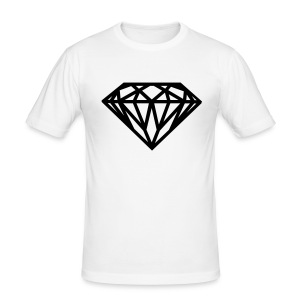 Men's T-shirt DIAMOND | TLMClothing  - Men's Slim Fit T-Shirt