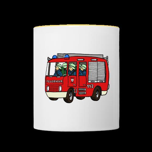 Heiße Tasse - Tasse zweifarbig