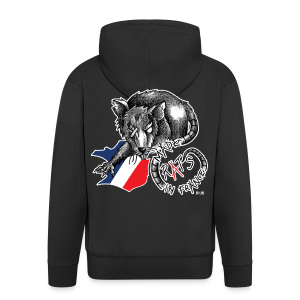 Rat's Made in France by LPB - Veste à capuche Premium Homme