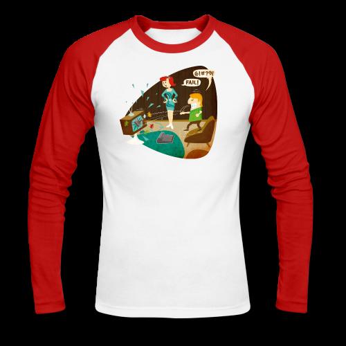 Fail! - Men's Long Sleeve Baseball T-Shirt