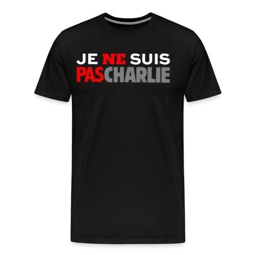 Je ne suis pas Charlie - T-shirt Premium Homme