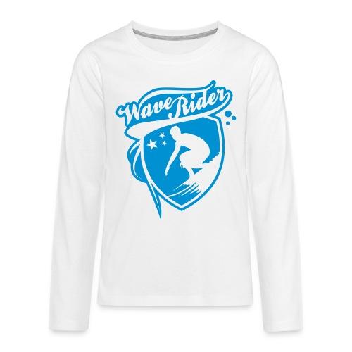 st000137 - Maglietta Premium a manica lunga per teenager