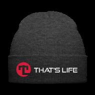 Caps & Hats ~ Winter Hat ~ Winter cap - That's Life - White Logo