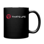 Mugs & Drinkware ~ Full Colour Mug ~ Coffe cup - White Logo - That's Life