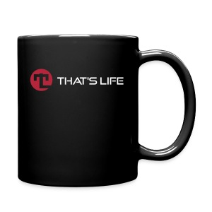 Coffe cup - White Logo - That's Life - Full Colour Mug