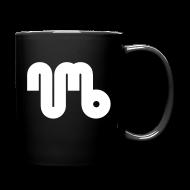 Mugs & Drinkware ~ Full Colour Mug ~ Coffe cup - White Logo - Numb