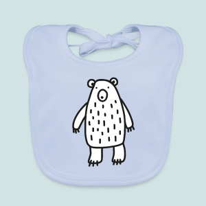 Bear with me - Baby Organic Bib