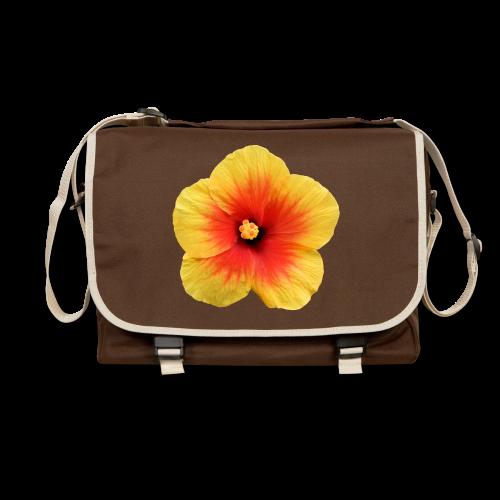TIAN GREEN Tasche Bag01 - Hibiskus - Umhängetasche