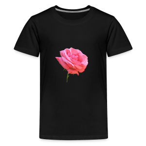 TIAN GREEN Shirt Teen - Rose - Teenager Premium T-Shirt
