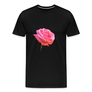 TIAN GREEN Shirt Men - Rose - Männer Premium T-Shirt