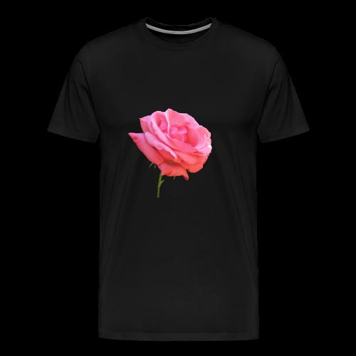 TIAN GREEN Shirt Men - Rose - Männer Premium T-Shirt