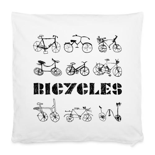 Fahrräder - Kissenbezug 40 x 40 cm