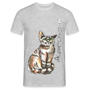 Lauschkatze - Männer T-Shirt
