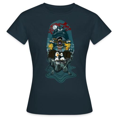 hit the north ladies - Women's T-Shirt