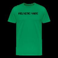 Tee shirts ~ T-shirt Premium Homme ~ Helvetic Vape