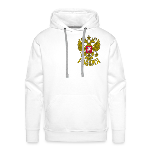 ~Russia White~ - Männer Premium Hoodie