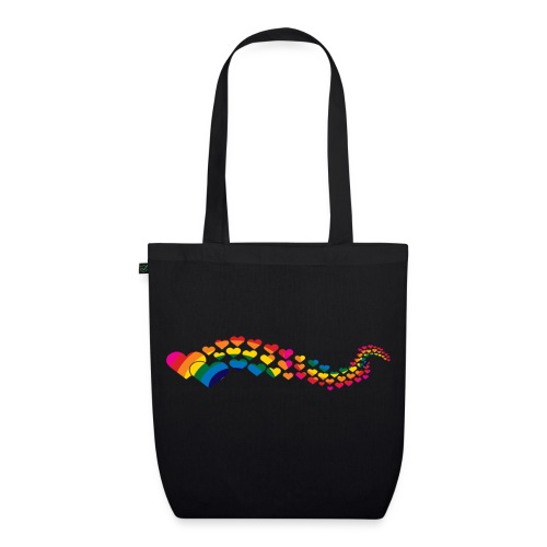 Hearts Tote - EarthPositive Tote Bag