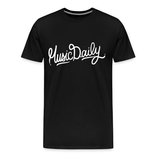 MusicDaily T-Shirt - Mannen Premium T-shirt