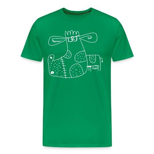 la vache - Men's Premium T-Shirt