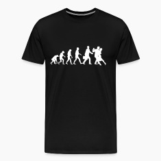 Evolution of Mens Tango T-Shirts
