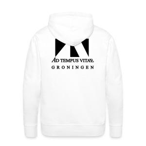 Vest met bedrukking achter - Mannen Premium hoodie