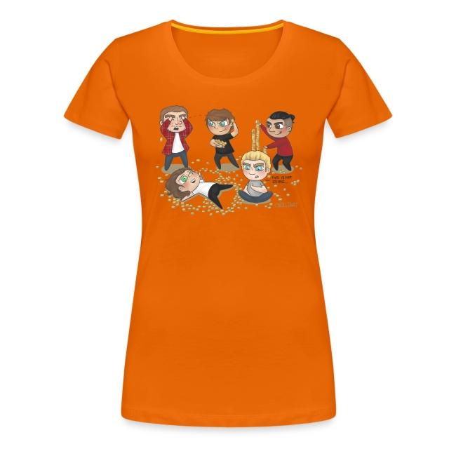 Cyrilliart's Loose Change OT5 Womens Shirt