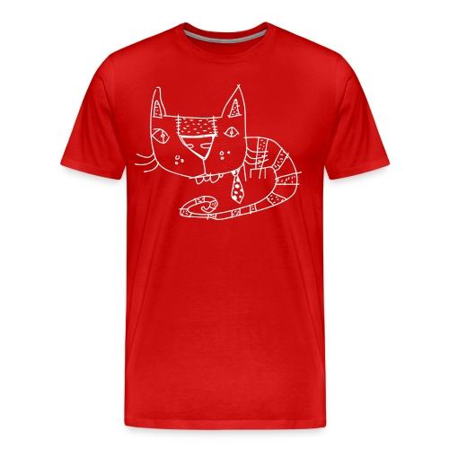 le chat - Men's Premium T-Shirt