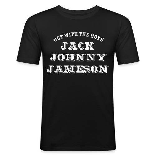 johnny - Men's Slim Fit T-Shirt