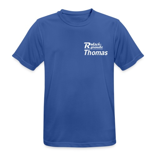 Rutschgranaten-T-Shirt Thomas - Männer T-Shirt atmungsaktiv