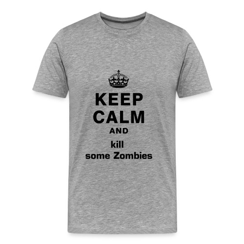 kill some zombies - Männer Premium T-Shirt
