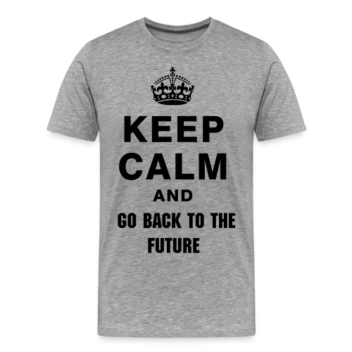 Back to the future - Männer Premium T-Shirt
