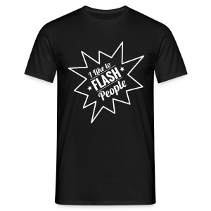 I Flash People - Men's T-Shirt