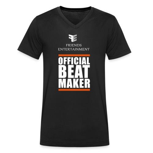 FE-Beatmaker - Männer Bio-T-Shirt mit V-Ausschnitt von Stanley & Stella