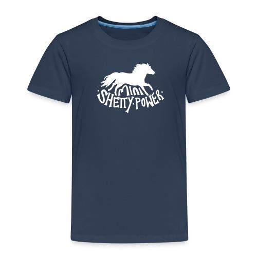 Mini Shetty Power  - Kinder Premium T-Shirt