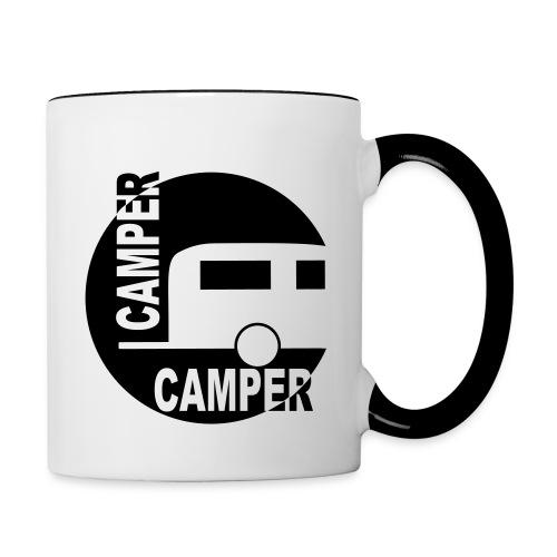 Tasse Camper - Tasse zweifarbig