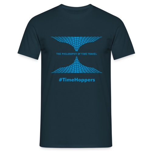 Philosophy of Time Travel - Men's T-Shirt