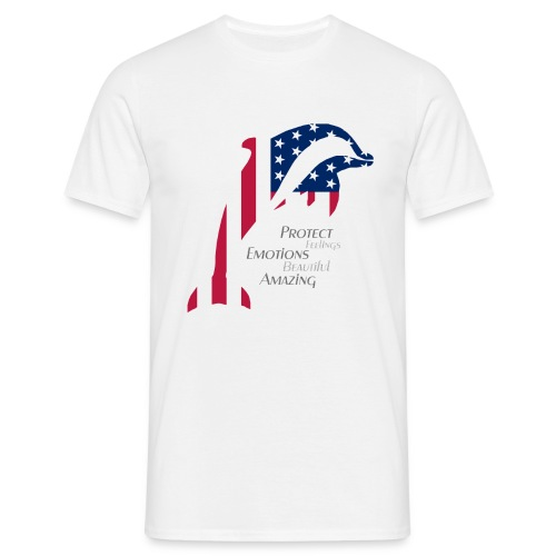 Dolphin US Style - Männer T-Shirt