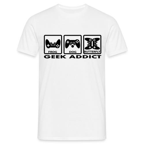 Geek addict joystick - T-shirt Homme