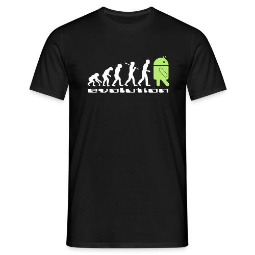 Evolution de l'espèce robot android - T-shirt Homme