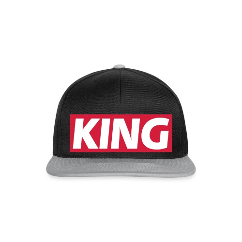 KING :  - Casquette snapback